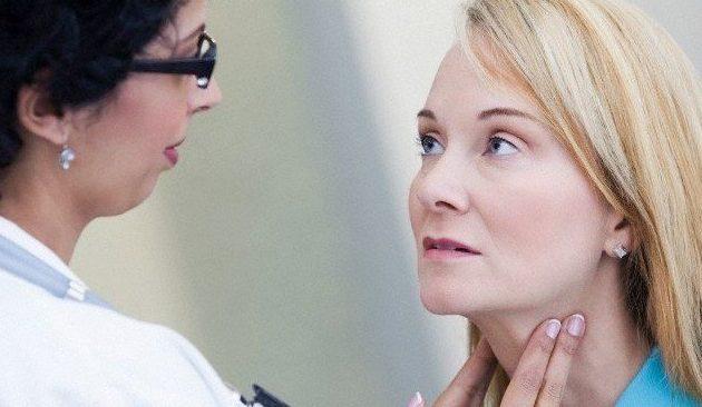 Киста щитовидной железы: причины, симптомы и лечение