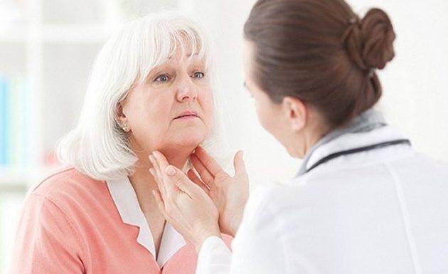 После биопсии щитовидки болит горло