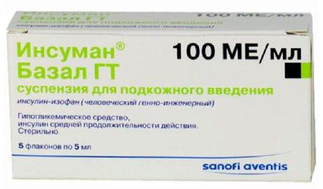 Базальный инсулин: инструкция по применению, отзывы