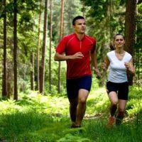 Пробежка в лесу